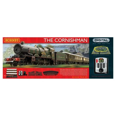 Hornby R1160 The Cornishman 00 Gauge DCC Electric Train Set