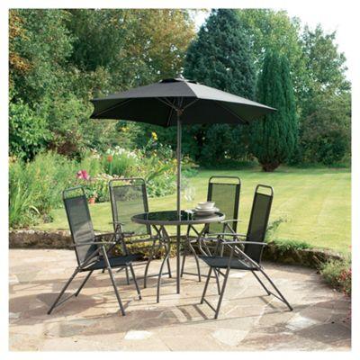 Montego 4 Seat Set & Parasol
