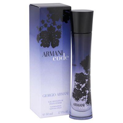 Giorgio Armani Code Eau De Parfum Spray 50ml