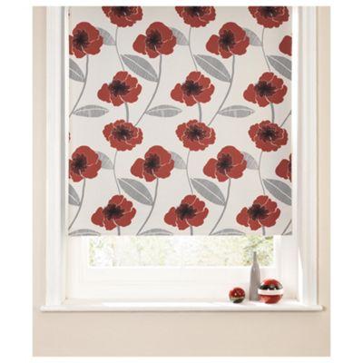 Poppy Roller Blind 180x160cm Red