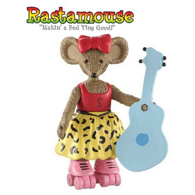 Rastamouse Posable Figs