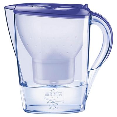 BRITA Marella 2.4 Litre Water Filter Jug, Lavender