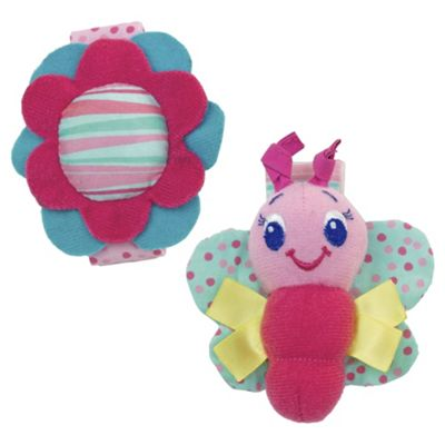 Bright Starts Rattle Me Bracelets, Twin Pack