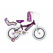 "Bumper Dolly 12"" Wheel Pavement Bike Purple Stabilisers"