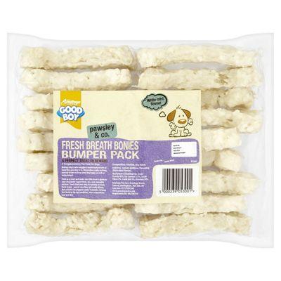 Good Boy Pawsley & Co Fresh Breath Flavour Bonies Bumper Pack
