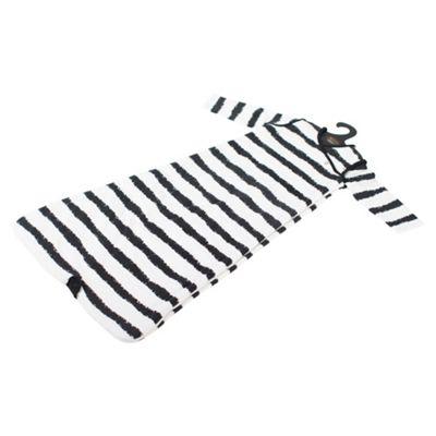 By Carla Long Sleeve Baby Sleeping Bag, 1 Tog, Nougat, 0-6 Months, Stripes