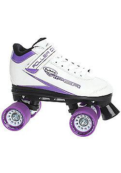 Roller Derby Roller Derby Mens/Womens Viper M-4 Quad Roller Skates Black Or White UK4 - UK11 - White