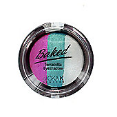 Nicka K Baked Terracotta Trio Eyeshadow-05 Sparkle Watermelon