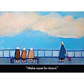 Holy Mackerel Make Room For Mavis Greetings Card