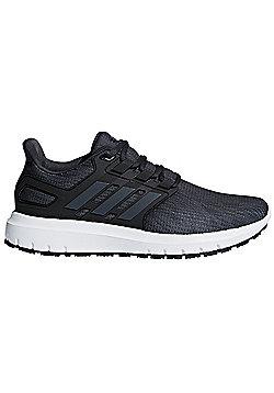 adidas Energy Cloud 2 Mens Neutral Running Trainer Shoe Carbon/Black - Black