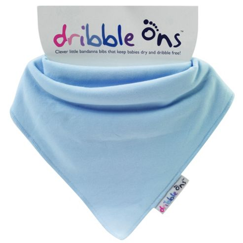 Dribble Ons - Baby Blue.