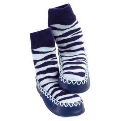 Mocc Ons Zebra 6-12 months