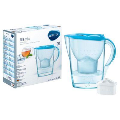 BRITA Marella 2.4 Litre Water Filter Jug, Orchid Blue