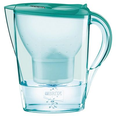 BRITA Marella 2.4 Litre Water Filter Jug, Mint Green