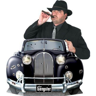 Gangster Car Photo Prop - 64cm