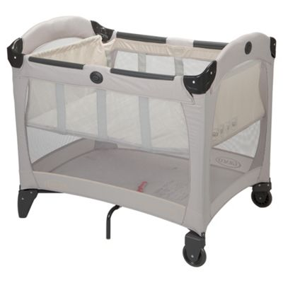 Graco Contour On The Go Travel Cot - Biscuit