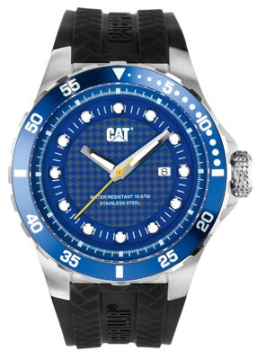 CAT P52 Sport Mens Rubber Date Watch YN.141.21.126