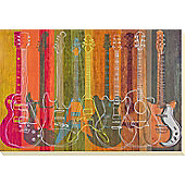 Guitars Canvas Picture