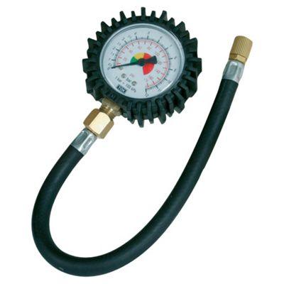 Silverline Tyre Dial Pressure Gauge