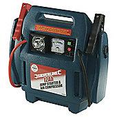 Silverline Jump Starter & Air Compressor 12Ah