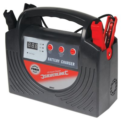 Toolstream Silverline Smart Charger 12v 15A