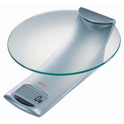 Soehnle 5 kg Model Digital Kitchen Scale in Silver