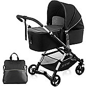 Jane Minnum Micro Pushchair (Black Stars)