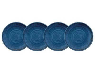 Epicurean Artisan 26cm Dinner Plate Indigo Set of 4