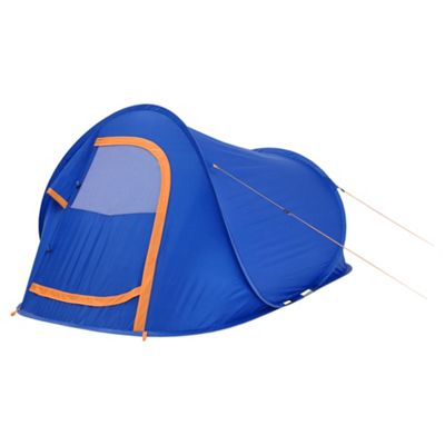 Tesco 2 Man Pop Up Tent Blue  sc 1 st  Tesco & Buy Tesco 2 Man Pop Up Tent Blue from our 2 Man Tents range - Tesco