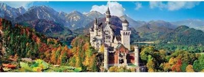 Neuschwanstein - 1000pc Panoramic Puzzle