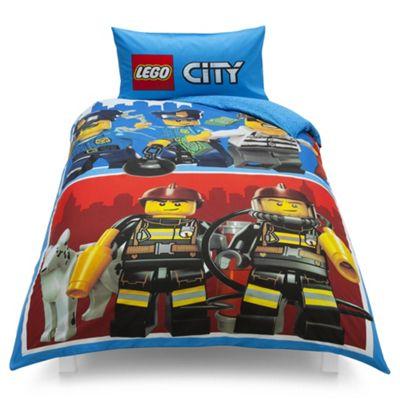 LEGO City Single Duvet Set
