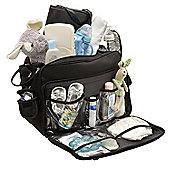 Ryco Deluxe Everyday Black Messenger Bag