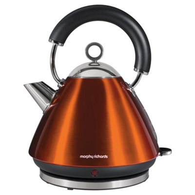 Morphy Richards 43778 1.5L Accents Traditional Kettle - Copper