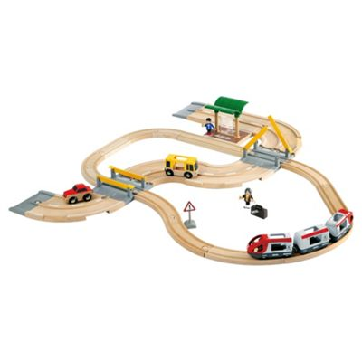 Brio Rail and Road Travel Set Wooden Toy