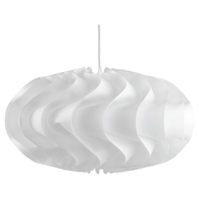 Tesco Lighting Orbit Sculpture Pendant, White