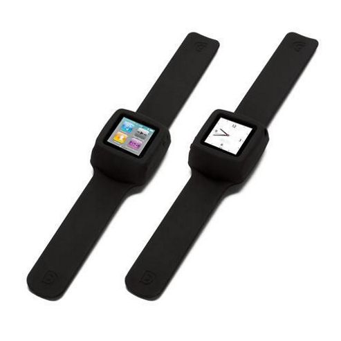 Griffin RE02202 Slap Flexible Wristband for iPod Nano 6th Generation - Black