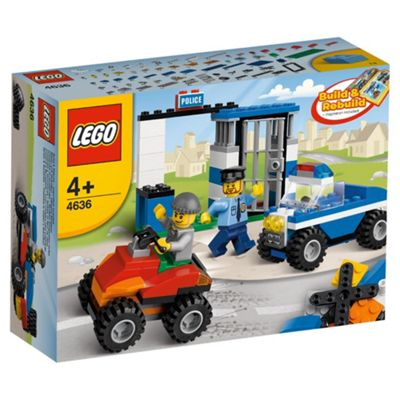 LEGO 4636 Creator Police Building Set