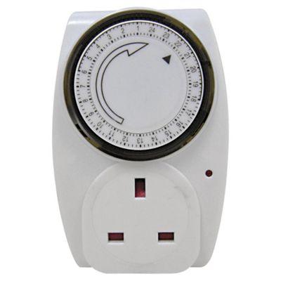 Masterplug Mechanical Timer Triple Pack