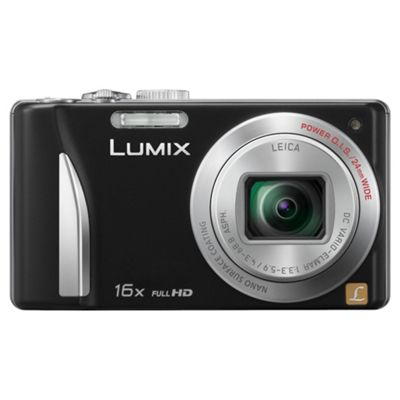 Panasonic TZ25 Black Digital Camera 3
