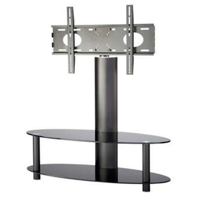 Alphason TV Bracket with 2 Shelf Pedestal for 37 to 50 ARB1100 - Black