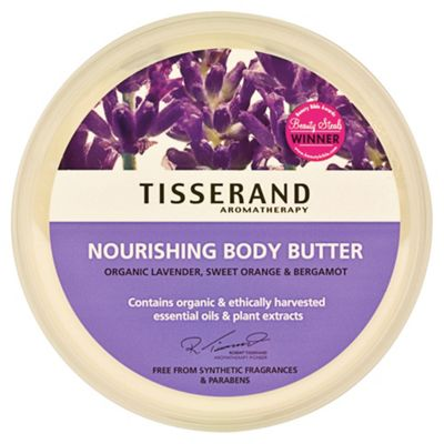 Tisserand Nourishing Body Butter (Lavender, Sweet Orange & Bergamot)