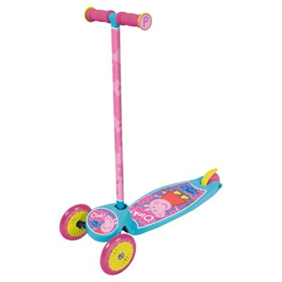 Peppa Pig Tilt & Turn 3-Wheel Scooter