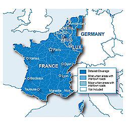 Garmin France and Benelux Maps microSD SD card