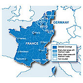 Garmin France and Benelux Maps microSD/SD card