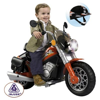 Injusa Custom Falcon Motorbike Battery Operated Ride-On