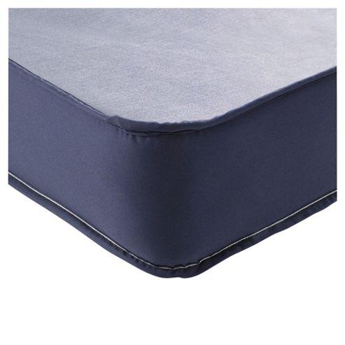 Airsprung Single Mattress, Essentials Kids Waterproof, Navy