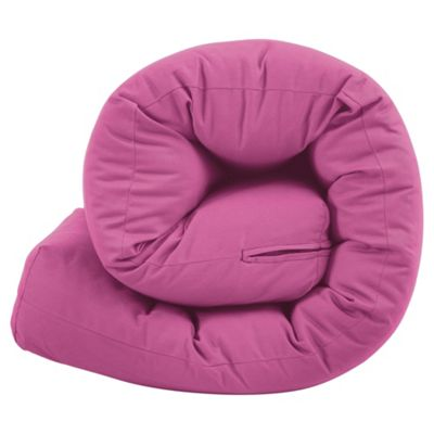 Futon Single Mattress Pink