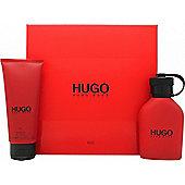 Hugo Boss Hugo Red Gift Set 75ml EDT + 100ml Shower Gel For Men