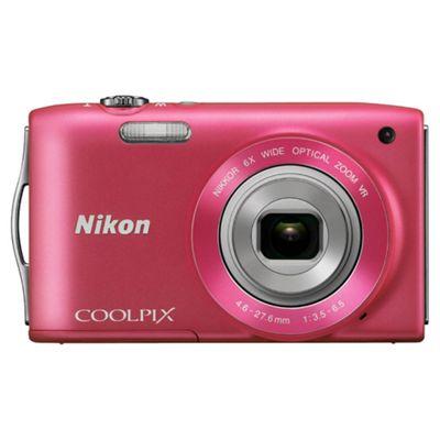 Nikon S3300 Digital Camera 2.7