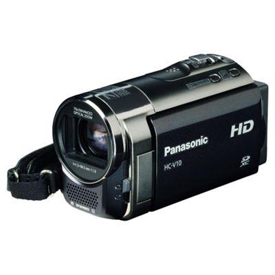Panasonic HC-V10 HD Camcorder (Black)